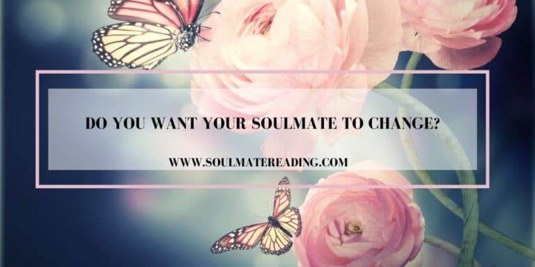 Do You Want Your Soulmate to Change?