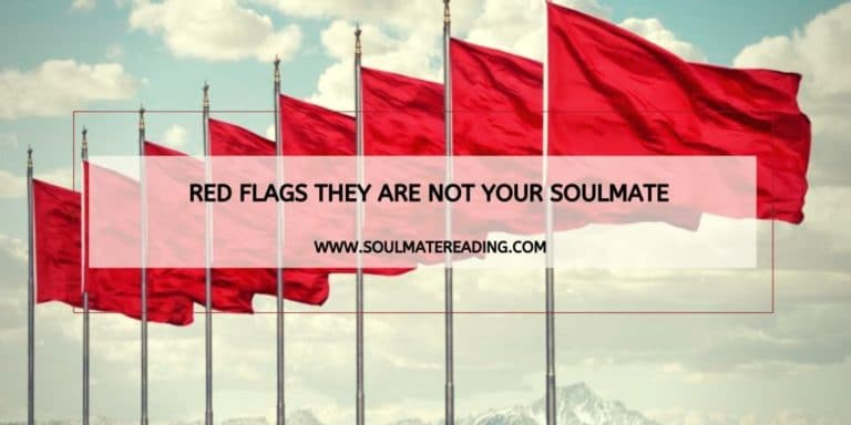 Red Flags They are Not Your Soulmate